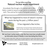Nuclear waste discussion