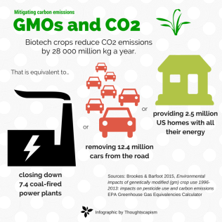GMOs and CO2 updated