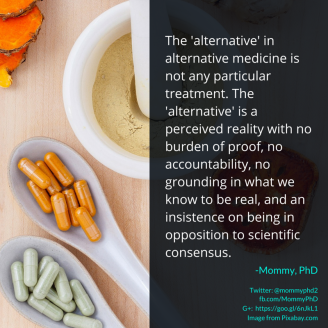 alternative medicine mommy phd