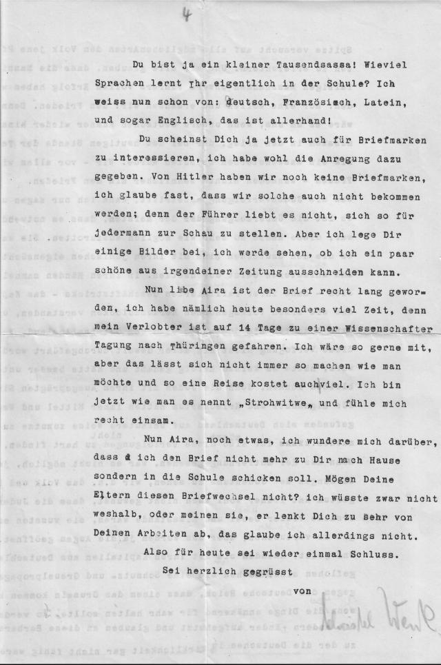 Christel Wenk letter September Königsburg 3