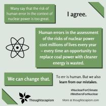 Human error nuclear power