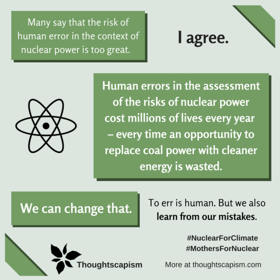 Human error nuclear power