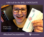 I did it all for the SHILL CHOCOLATE