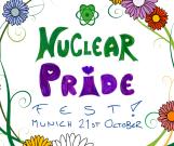 Nuclear Pride Fest Flowers 21st munich